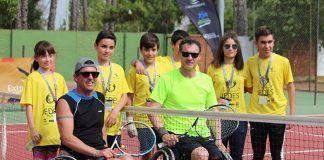 Tenis silla de ruedas JEDES 2018 Montijo