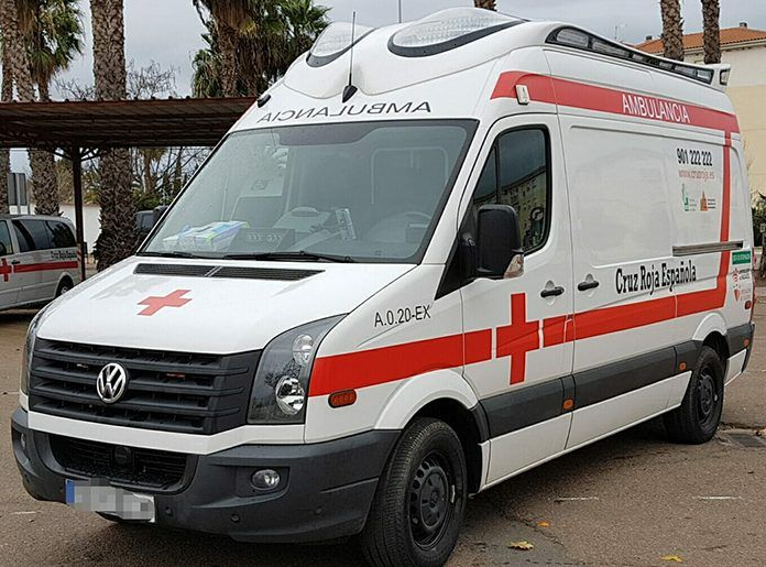 Ambulancia de Cruz Roja Montijo