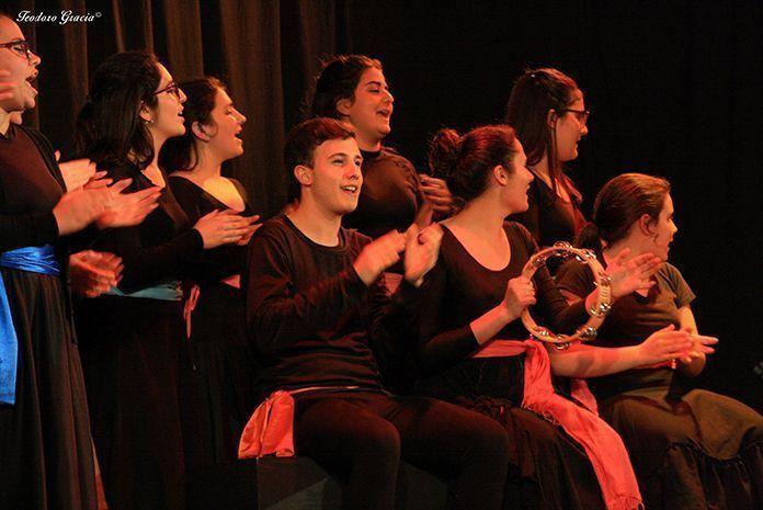 Bodas de sangre, de Federico García Lorca, representada por Molamanta Teatro (foto Teodoro Gracia)