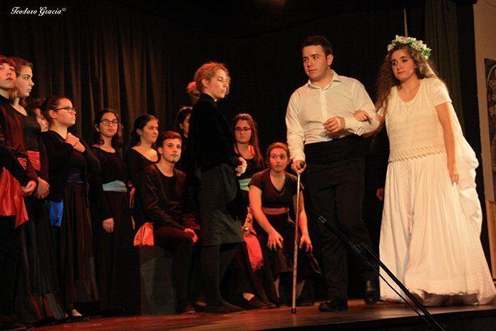 Bodas de sangre, de Federico García Lorca, representado por Molamanta Teatro