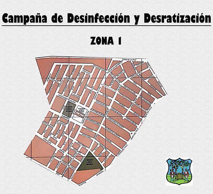 Campaña de desinsectación y desratización en la barriada de El Valle