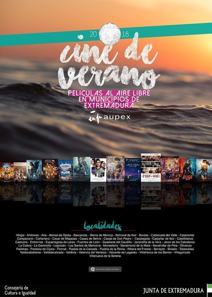 Cartel Cine de Verano 2018