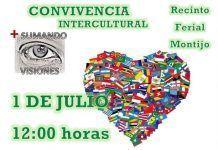 Cartel de la Convivencia Intercultural en Montijo