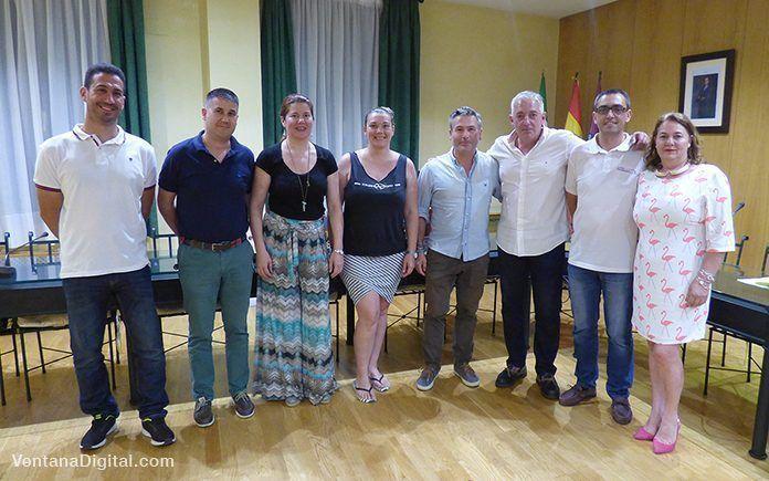 Nueva junta directiva de la AEM, Asociación de Empresarios de Montijo