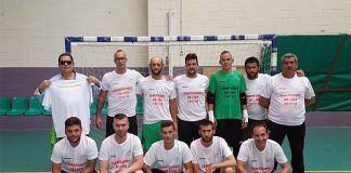 Presentación del equipo de Fútbol Sala Asociación Camino a la Vida para la Copa