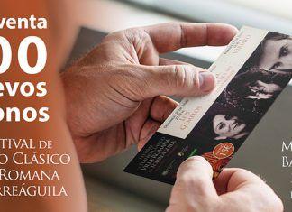 100 nuevos abonos a la venta del Festival de Teatro Clásico Villa Romana de Torreáguila