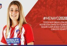 Carmen Menayo Carmen Menayo ha renovado hasta 2020 su contrato con el Atlético de Madrid Femenino