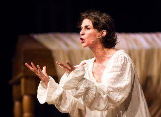 Gema Matarranz en Juana, la reina que no quiso reinar, en el Festival de Teatro Clásico de Torreáguila
