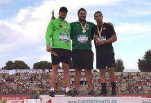 Javier Cienfuegos revalida el título de Campeón de España