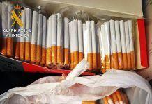 """La Guardia Civil interviene 4.600 cigarrillos de """"fabricación casera"""" en dos puntos de venta clandestina en Badajoz y Puebla de Obando"""