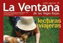 Portada de la revista La Ventana de las Vegas Bajas de julio-agosto de 2018