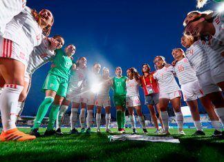 Selección Española de Fítbol Femenino sub-20 (foto RFEF)