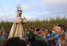 Traslado de la Virgen de Barbaño a Montijo