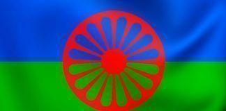 Bandera del pueblo gitano.