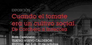 Cartel exposición Cuando el tomate era un cultivo social en Montijo