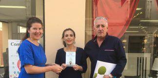 mejores escaparates Escapararte Entrega del Primer Premio a Sandra Álvarez