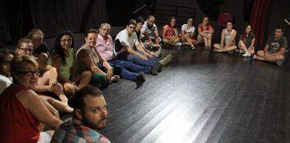 Escuela Municipal de Teatro de Puebla de la Calzada (foto Teodoro Gracia)