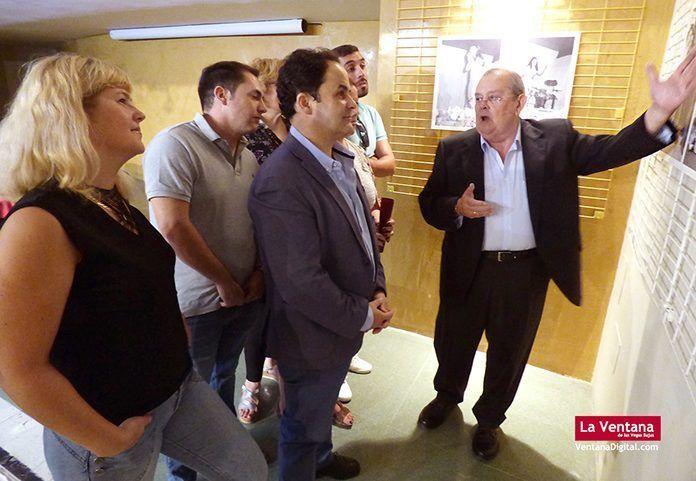 """Inauguración de la exposición """"Cuando el tomate era un cultivo social. De Felipe Corchero a INVECOSA"""" en Montijo"""