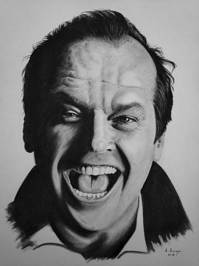 Jack Nicholson, dibujo de Alberto Arroyo