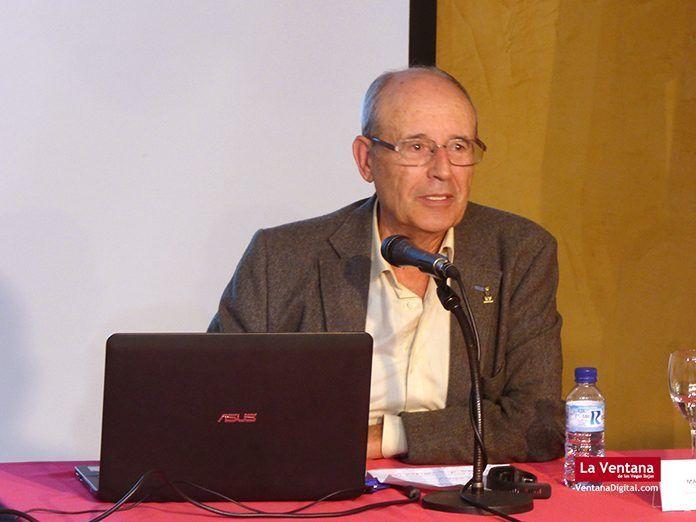 Manuel Pecellín Lancharro en los XI Encuentros de Historia en Montijo