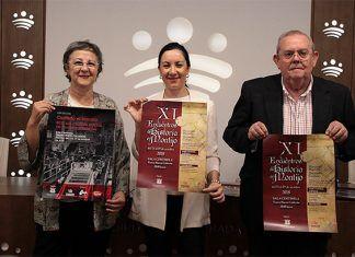 Presentación de los XI Encuentros de Historia de Montijo en Diputación de Badajoz