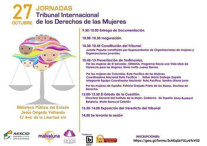 Programa del Tribunal Internacional de los Derechos de las Mujeres