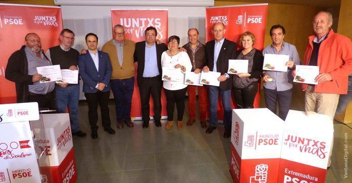 Acto 100 años PSOE Montijo