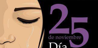 CARTEL 25 Noviembre Día Internacional contra la Violencia hacia las Mujeres en Montijo