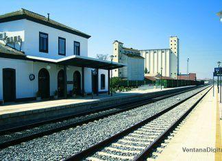 Estacion de tren de Montijo