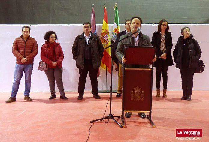 Inauguración de la III Feria del Chocolate y Agroalimentaria 2018 en Montijo