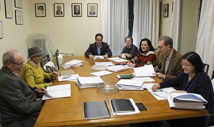"""Jurado del XXI Certamen de Relatos """"Rafael González Castell"""""""