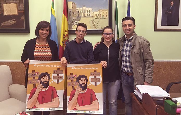 Plena Inclusión Montijo ha visitado el Ayuntamientos de Puebla de la Calzada para hablar de Accesibilidad Cognitiva