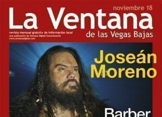 Portada de la revista La Ventana de las Vegas Bajas de noviembre de 2018