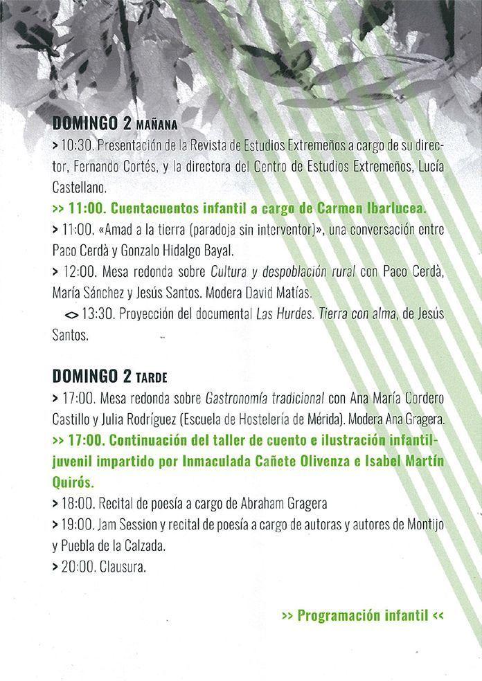 Programa Feria de la Cultura y el Territorio 1