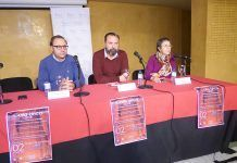 Presentación de la Gala Lírica a favor de la AECC Montijo.