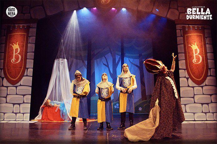 """""""La loca historia de la bella durmiente"""" en el Festival de Teatro Infantil y Familiar """"Theatre ves"""" de Puebla de la Calzada"""