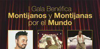 Cartel I Gala Montijanos y Montijanas por el Mundo