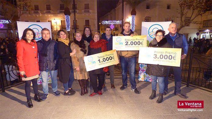 Sorteo de Navidad de AEM, Asociación Empresarios de Montijo