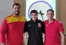 Tres montijanos en la Concentración de Lanzadores de Martillo de la Selección Española