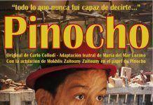 """Cartel """"Pinocho"""" en Puebla de la Calzada"""