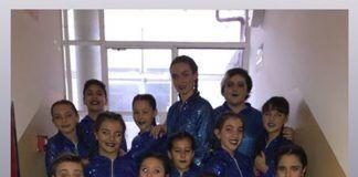 Alumnos de la Escuela de baile Jesús y Sandra