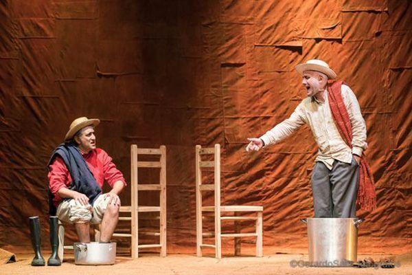 Representación de la obra de teatro