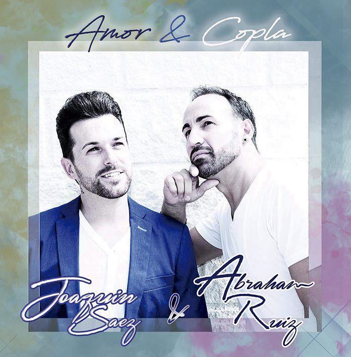 """Portada del disco """"Amor y copla"""" de Joaquín Sáez y Abraham Ruiz"""