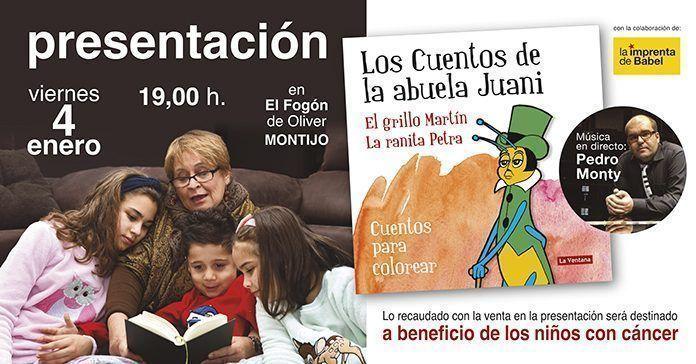 Presentación de Los cuentos de la abuela Juani para colorear
