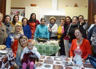 Taller de cocina de la Asociación de Inmigrantes Vegas Bajas y la Asociación de Viudas Virgen de Barbaño