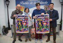 Presentación del cartel para el Carnaval 2019 de Puebla de la Calzada.