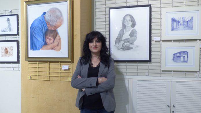 Exposición de dibujos en el Teatro Nuevo Calderón.