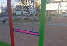 Nuevo acto de vandalismo en un parque infantil de Montijo