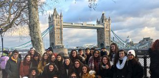 Viaje a Londres de alumnos IES de Valdelacalzada