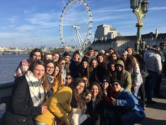 Viaje a Londres alumnos IES de Valdelacalzada